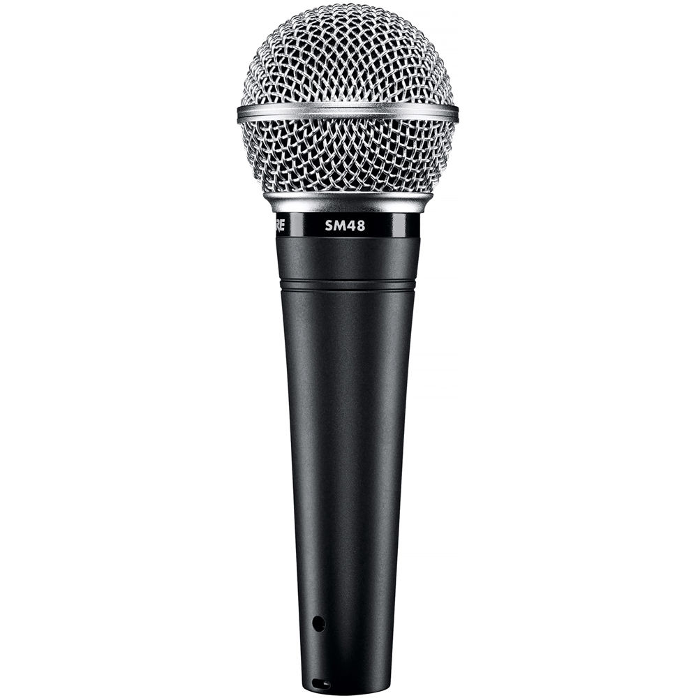 shure sm48 lc vocal microphone sm48 lc b h photo video. Black Bedroom Furniture Sets. Home Design Ideas