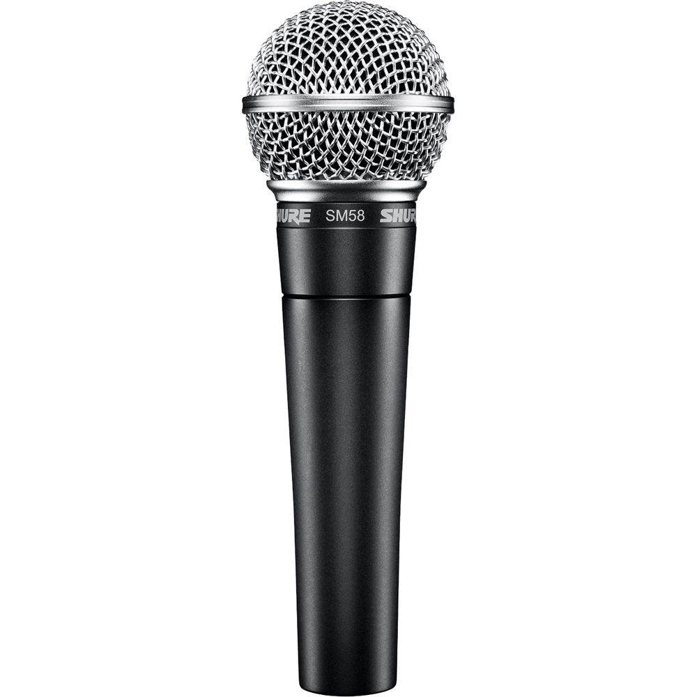 shure sm58 lc vocal microphone sm58 lc b h photo video. Black Bedroom Furniture Sets. Home Design Ideas
