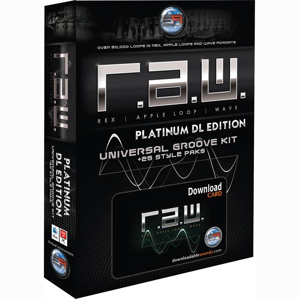 Edition Platinum: Sonic Reality R.A.W. DL Platinum Edition SR-RAW-PLT-DL01 B&H