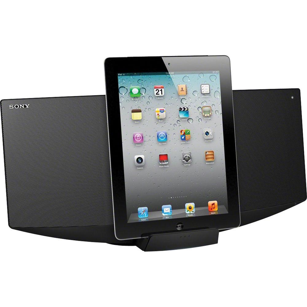 sony cmt v50ip micro hi fi music system cmt v50ip b h photo. Black Bedroom Furniture Sets. Home Design Ideas