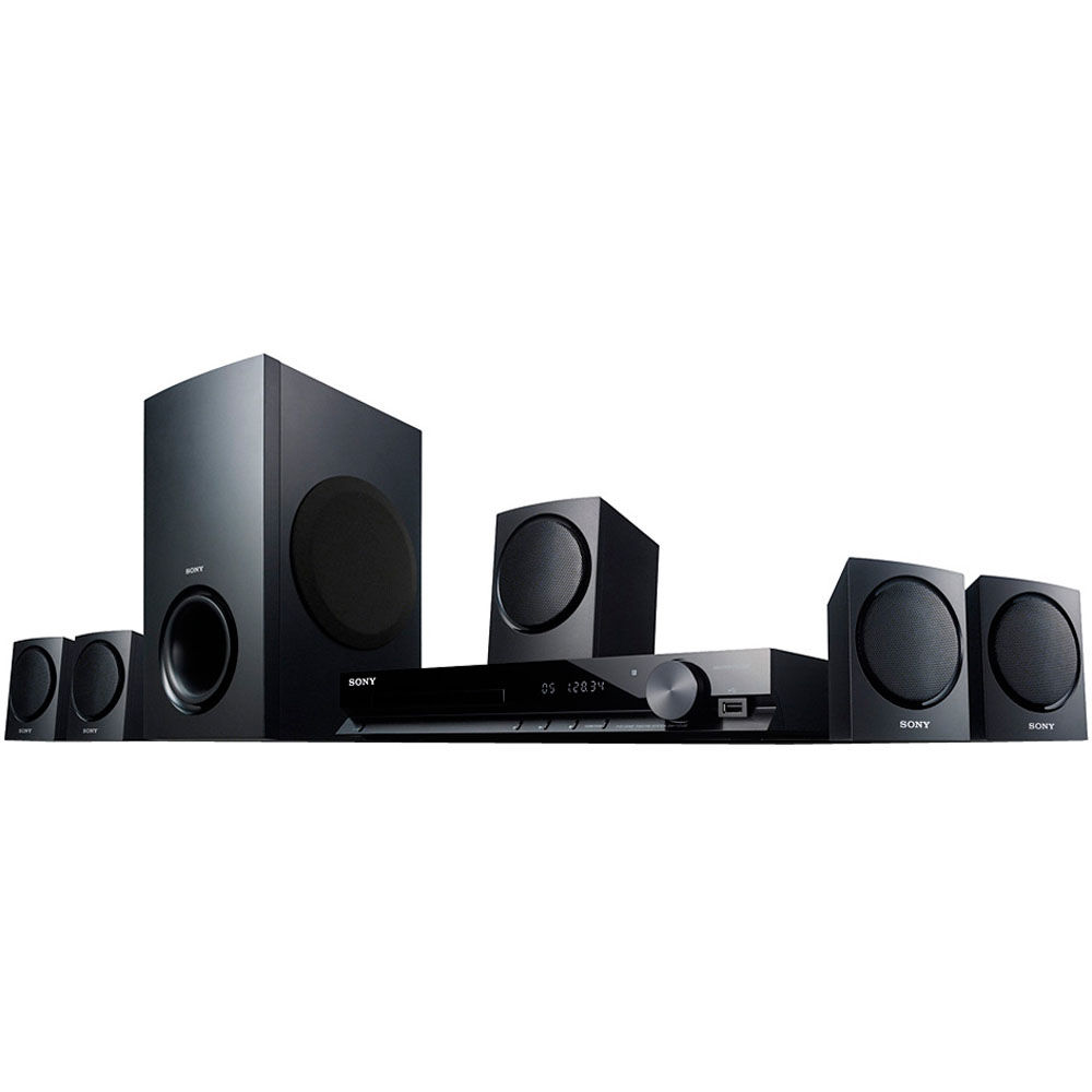 sony dav tz130 bravia 5 1 home theater system dav tz130 b h. Black Bedroom Furniture Sets. Home Design Ideas