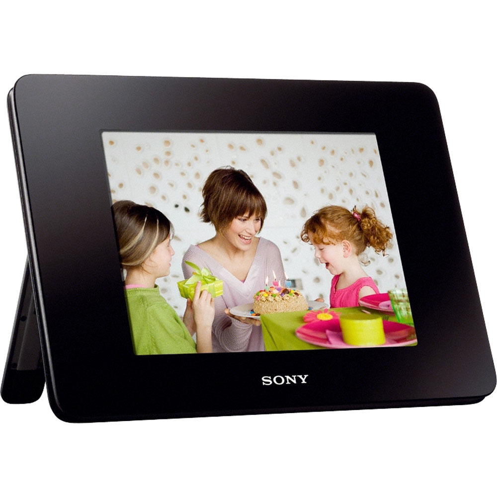 sony 8 digital photo frame video and audio