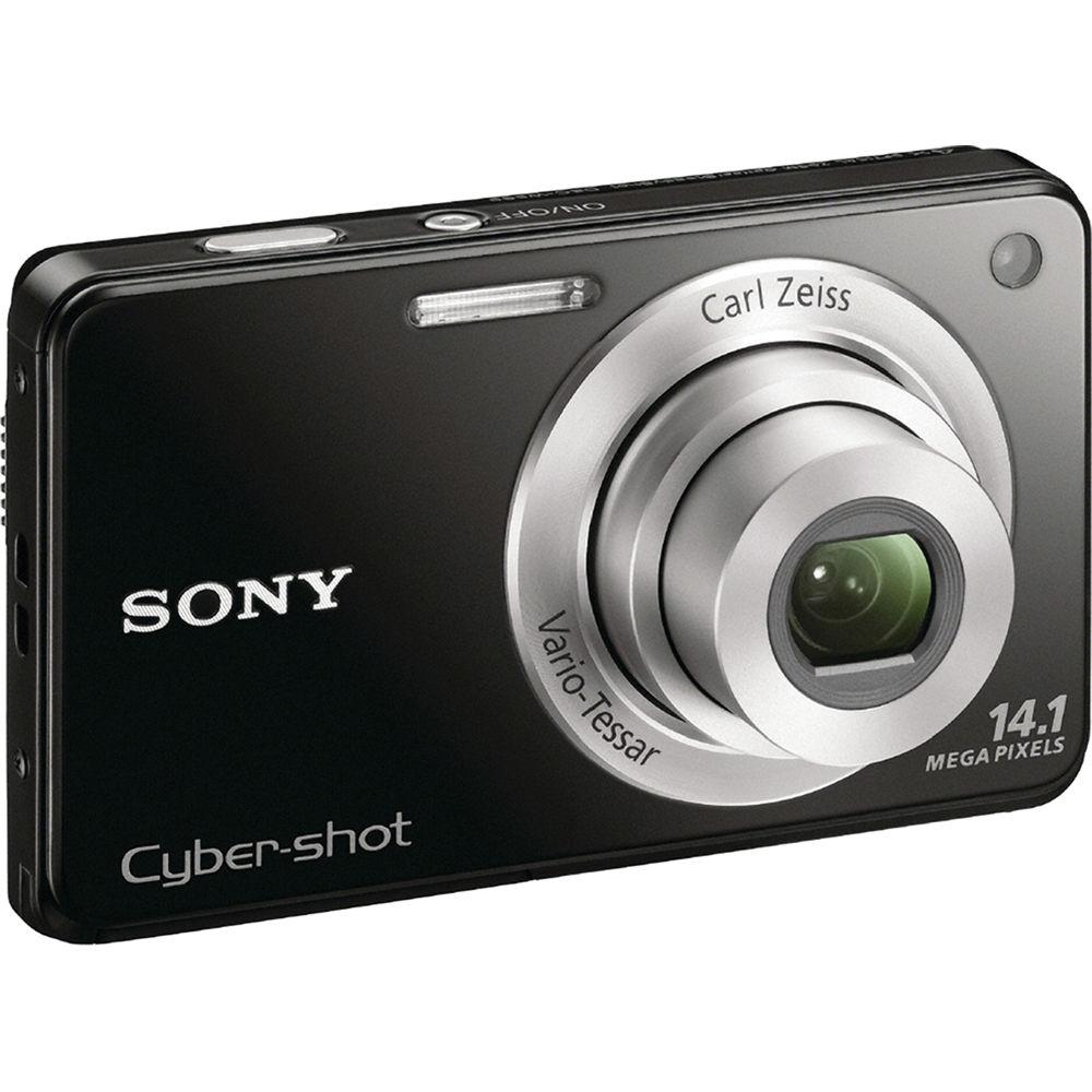 Sony Cyber-shot DSC-W560 Digital Camera (Black)