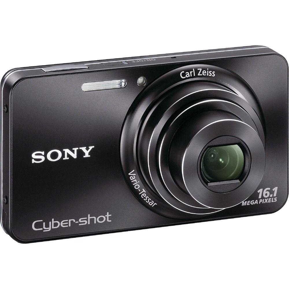 sony cyber shot dsc w570 digital camera black dscw570 b b h rh bhphotovideo com