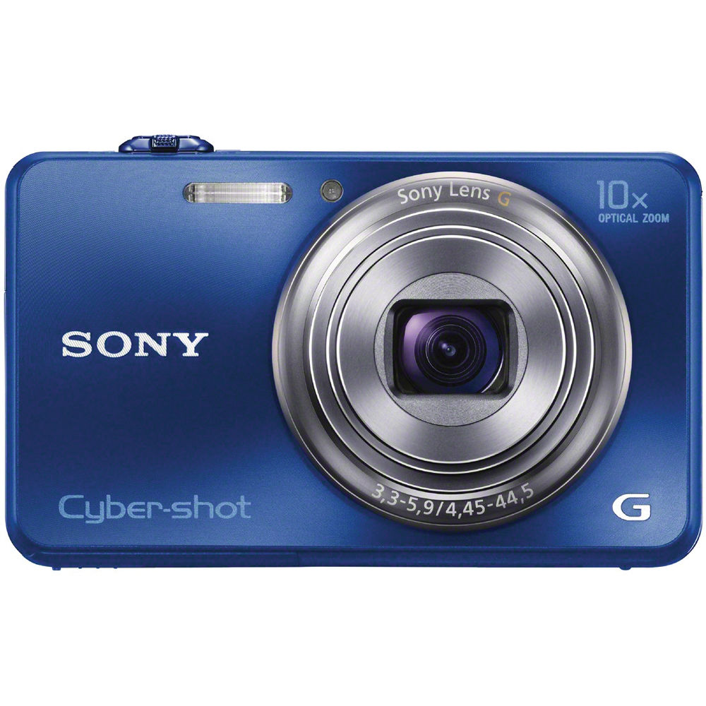Sony Cyber-shot DSC-WX150 Digital Camera (Blue) DSCWX150/L B&H
