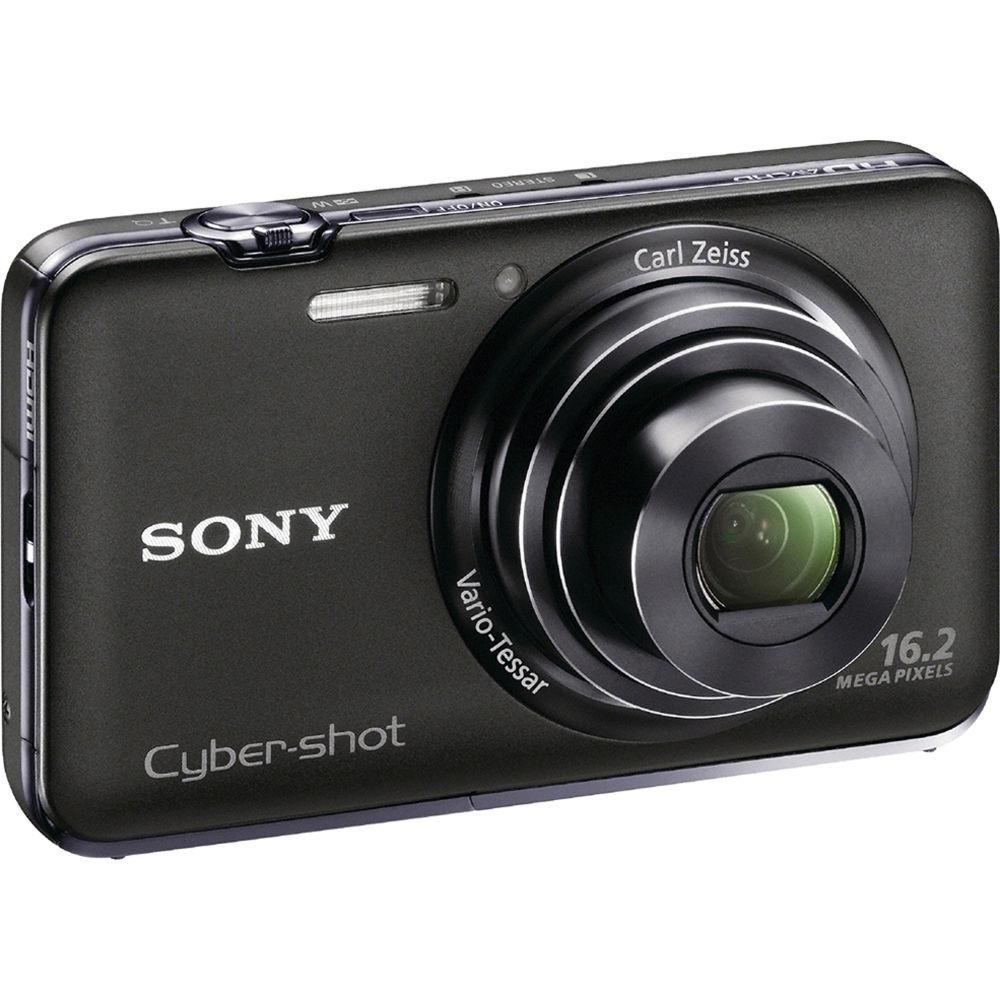 Sony Cyber-shot DSC-WX9 Digital Camera (Black) DSCWX9/B B&H