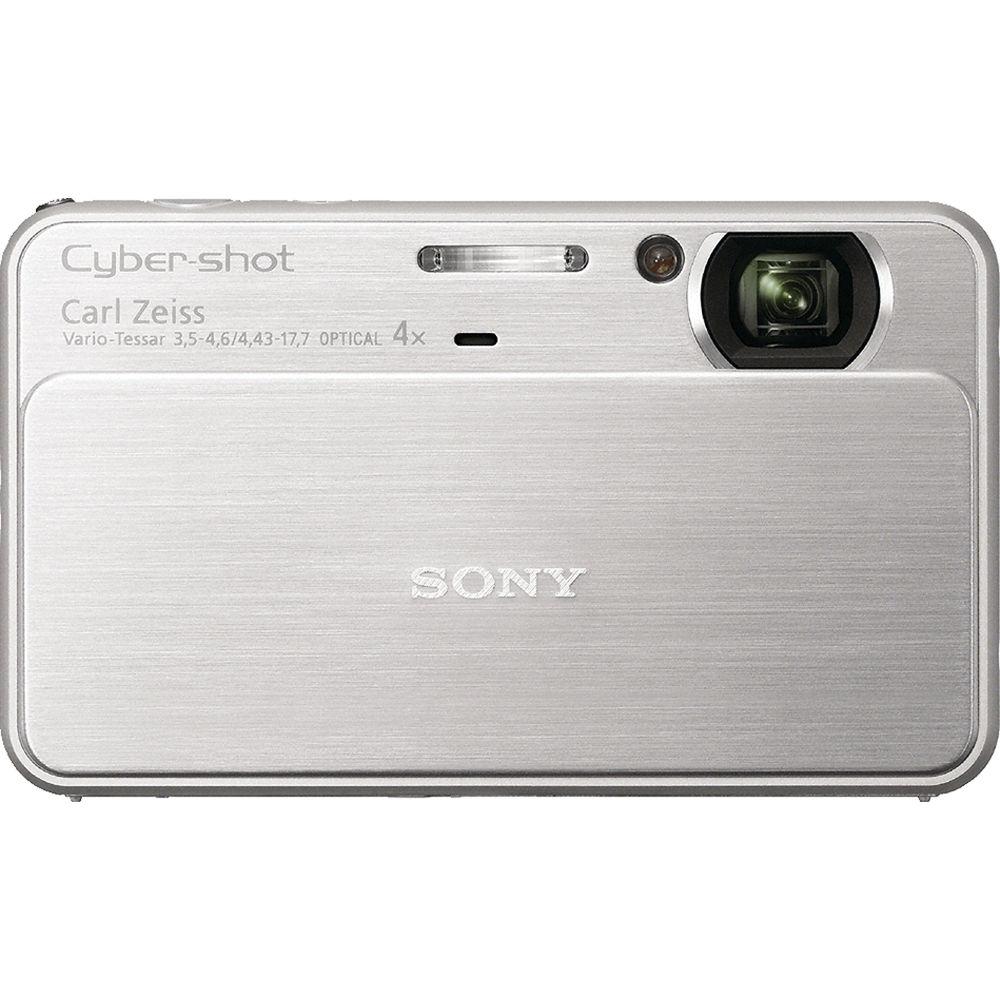Sony Cyber-shot DSC-T99 Digital Camera (Silver)