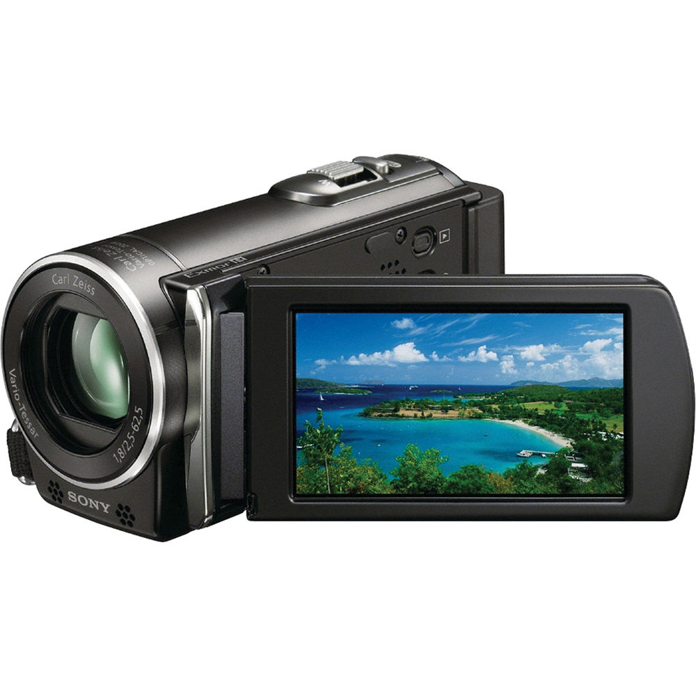 Sony hdr-cx110 full hd camcorder av ac usb comp cables software.