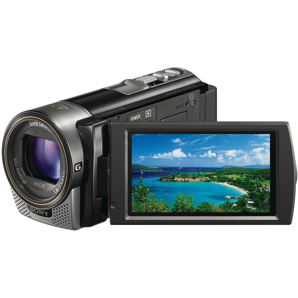 sony hdr cx160 hd flash memory camcorder black hdrcx160 b b h rh bhphotovideo com sony hdr-cx160 manual sony hdr-cx160 manual pdf