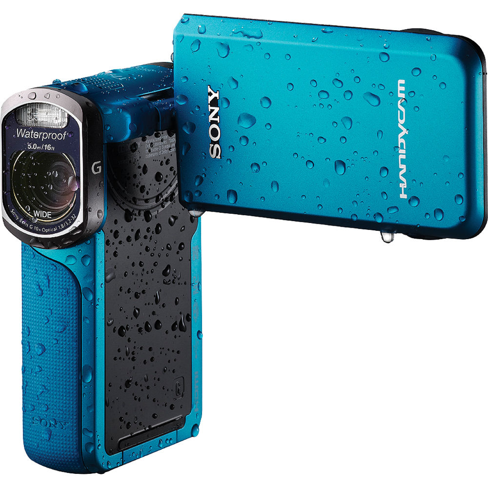 sony waterproof video camera sony 16gb hdr gw77v waterproof hd camcorder hdrgw77v 276