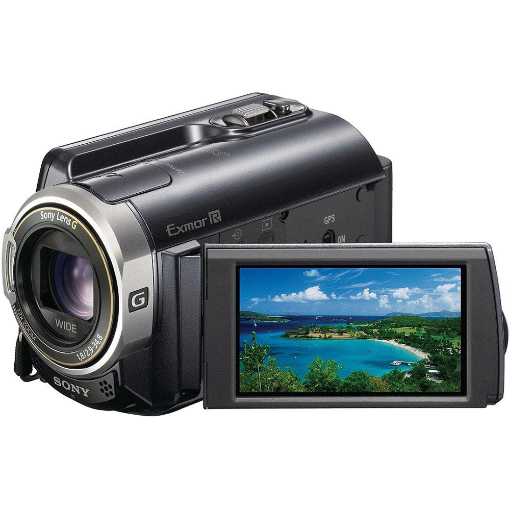 Sony Hdr Xr350v 160gb Handycam Camcorder Hdr Xr350v B Amp H Photo