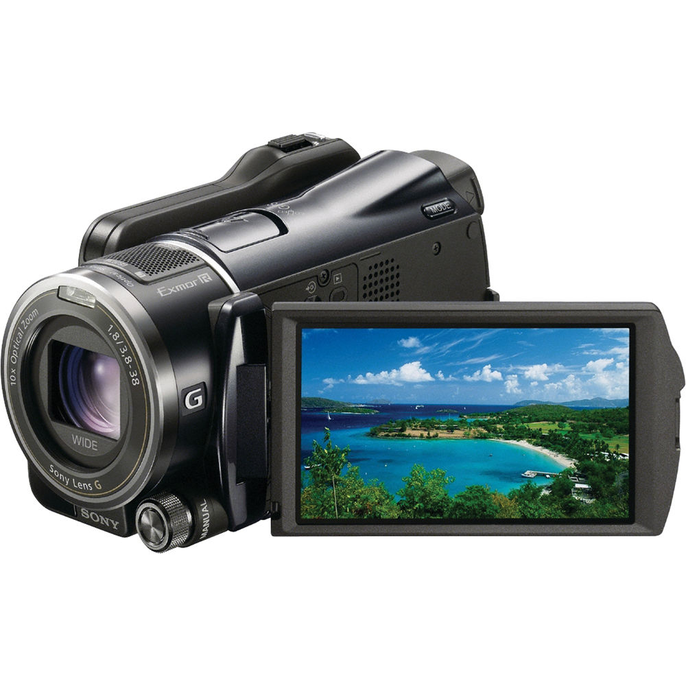 Sony Hdr Xr550v 240gb Hd Handycam Camcorder Bh Photo Click Image For Larger Versionnameimg1634jpgviews268size638 Kbid
