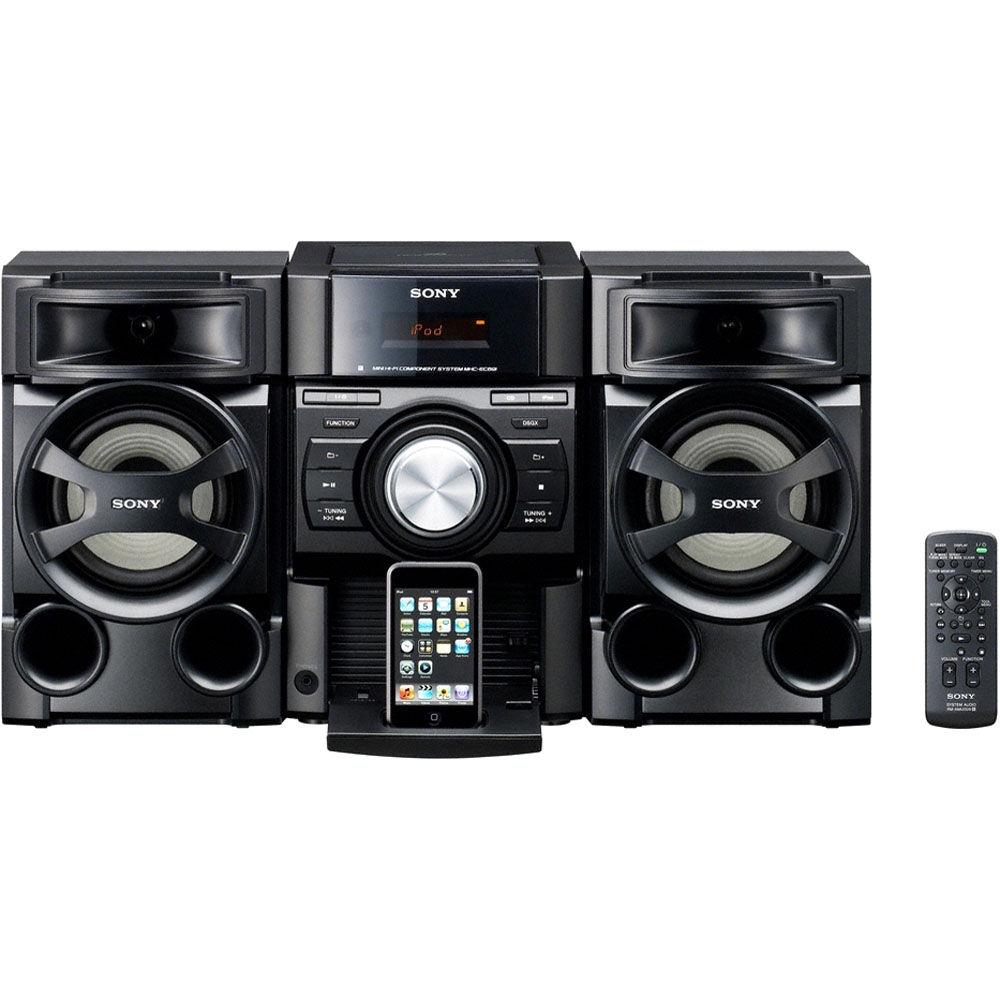 sony mhc ec69i mini hi fi music system mhcec69i c2 b h photo. Black Bedroom Furniture Sets. Home Design Ideas