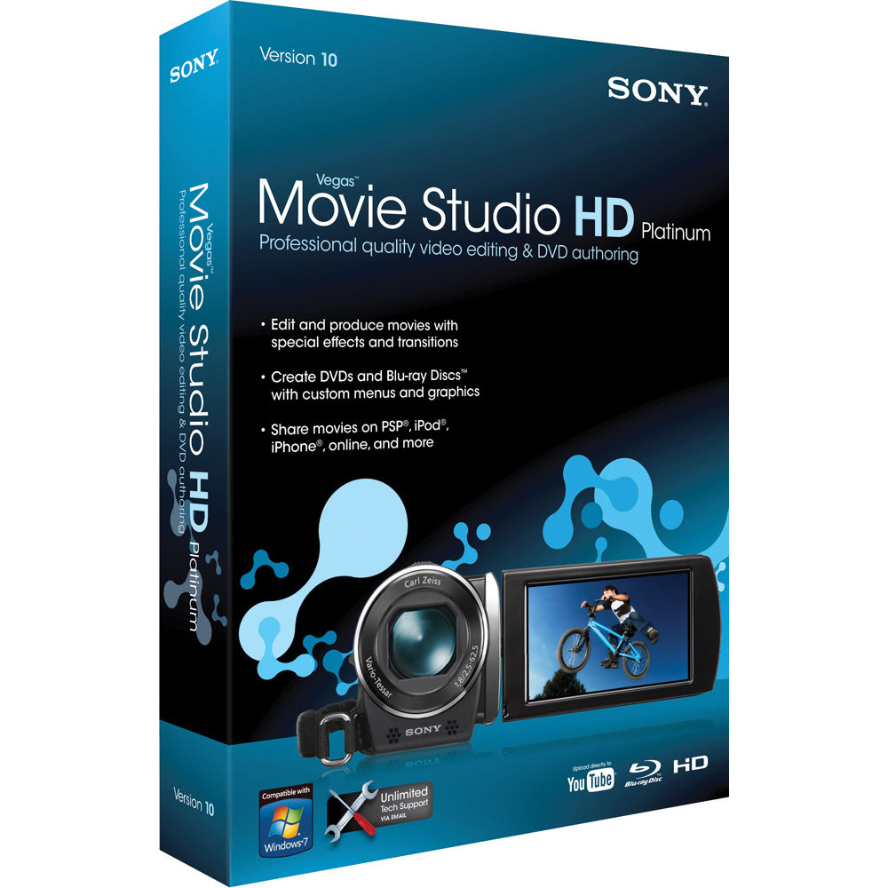 Logo do Sony Vegas Sony Vegas Movie Studio hd