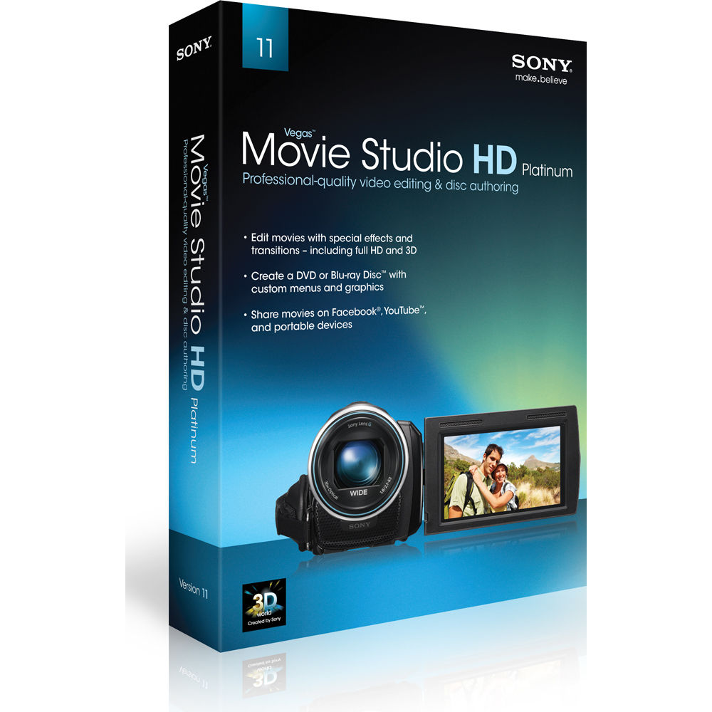 Sony vegas movie studio platinum 8.0 wrking crk