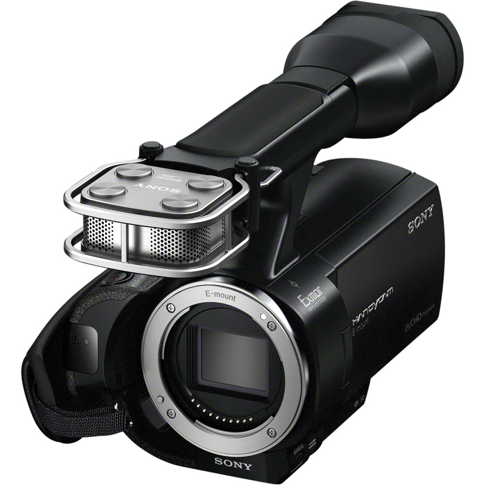 Sony Nex Vg20 Interchangeable Lens Hd Handycam Camcorder