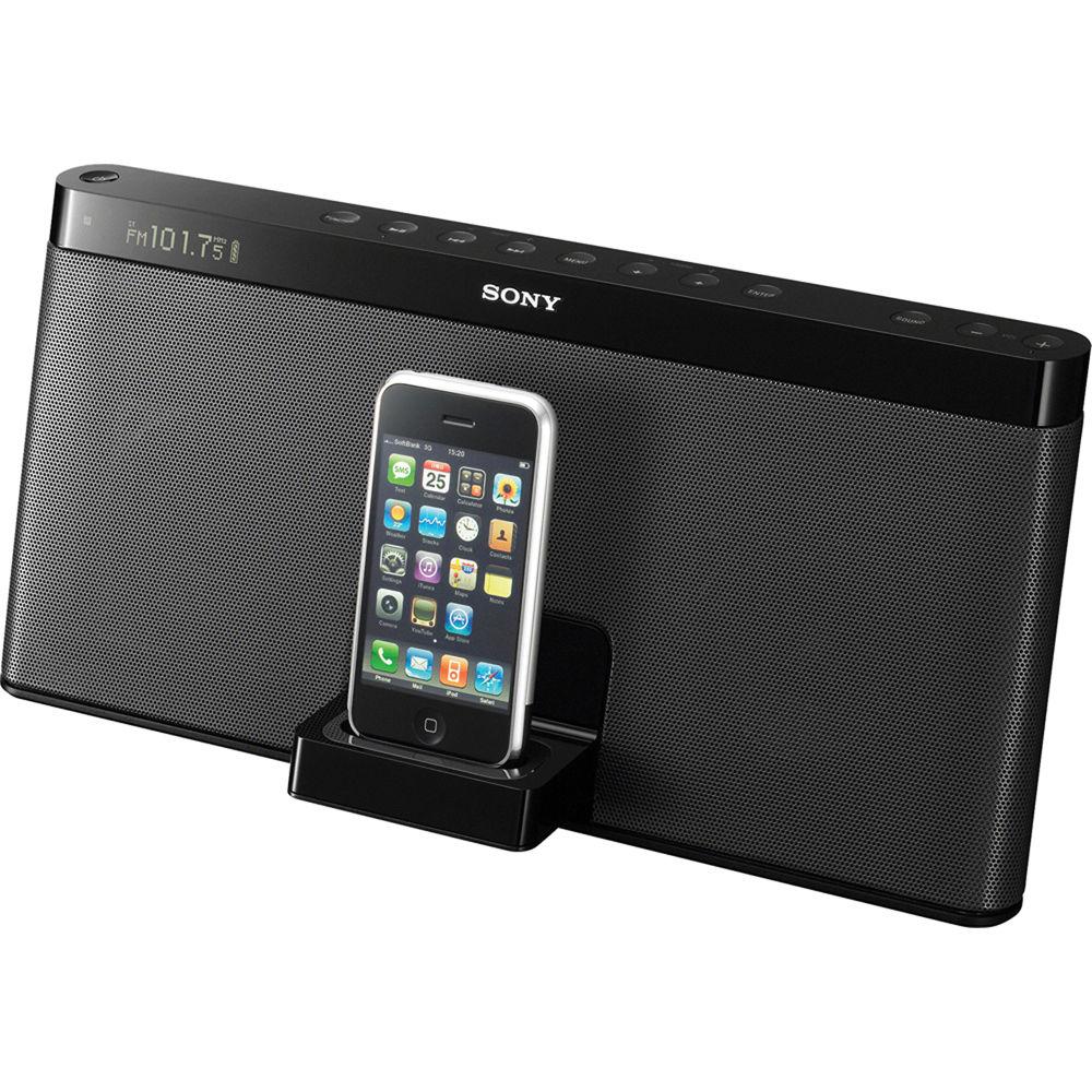 Sony RDP-XF100iP iPod Portable Speaker Dock RDP-XF100IP B&H