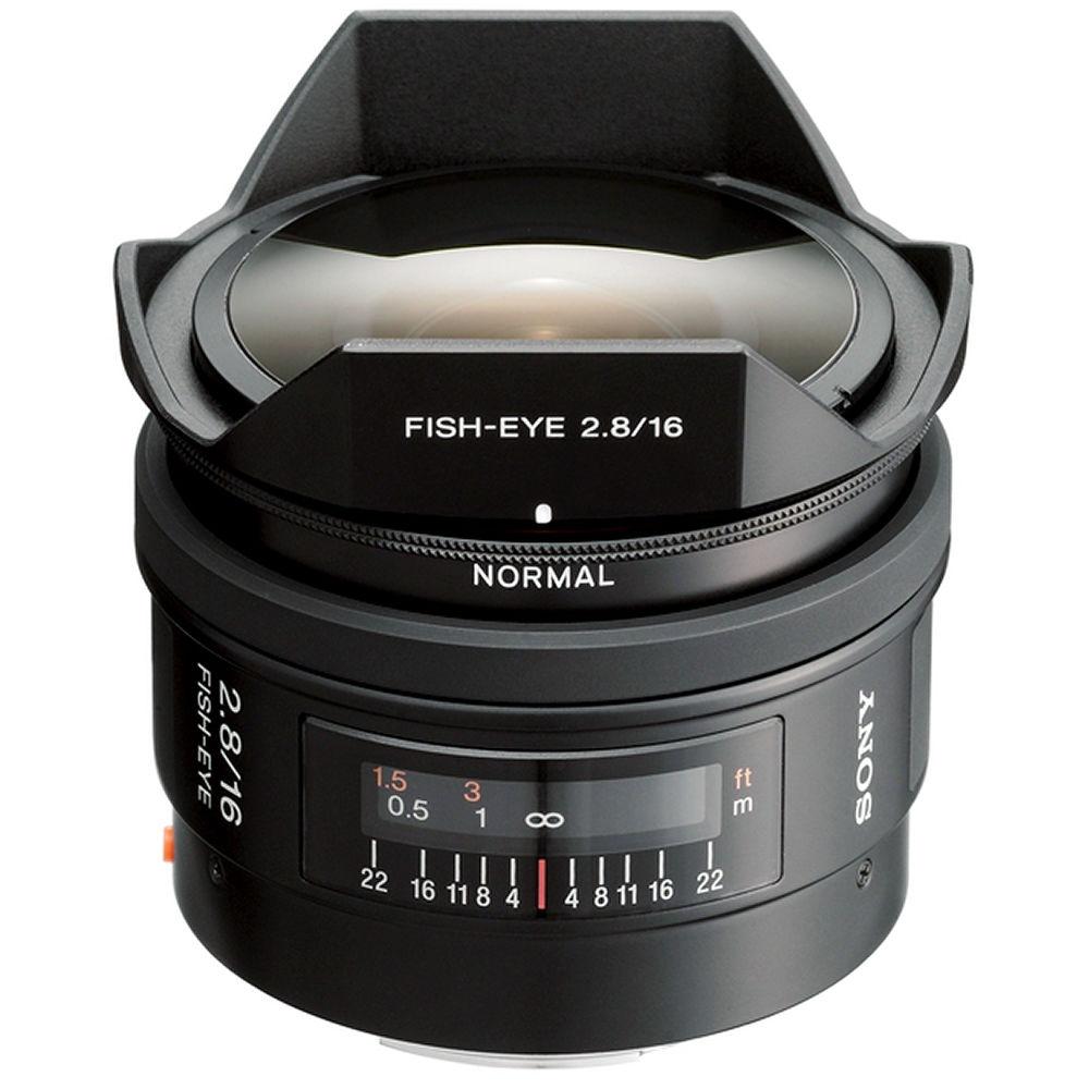 sony 16mm f28 alpha a mount fisheye lens