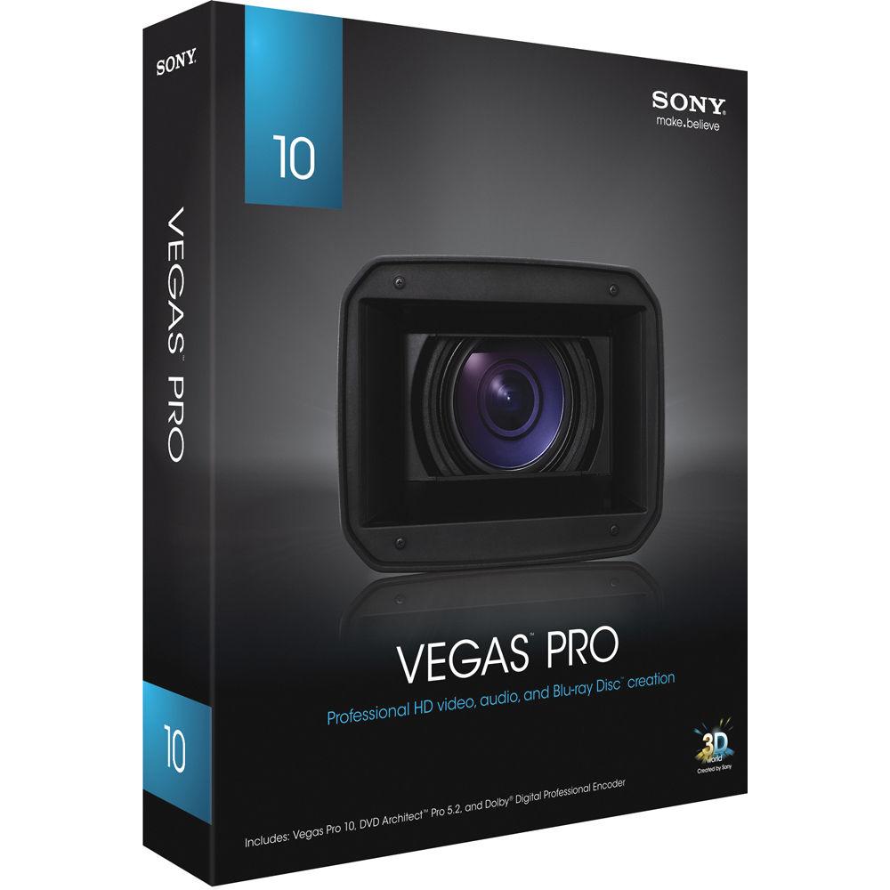 Sony Vegas Pro 10 Advanced Video Editor Adds 3D