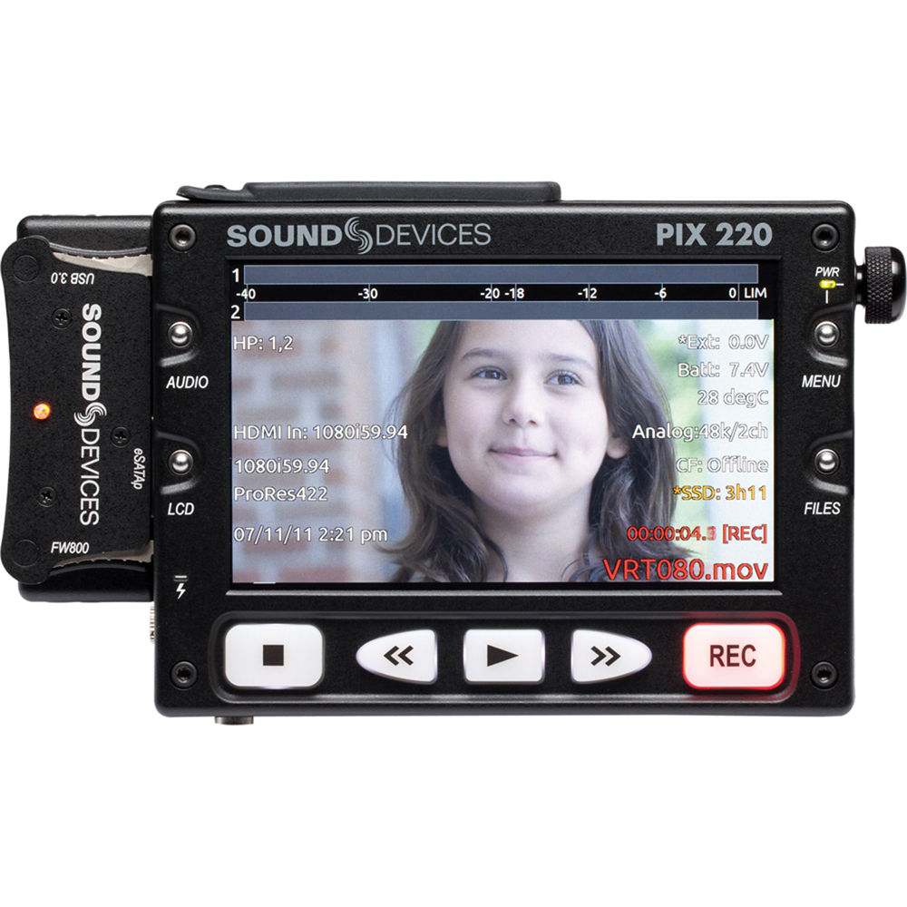 Drivers Update: Sound Devices PIX 220i Video Recorder