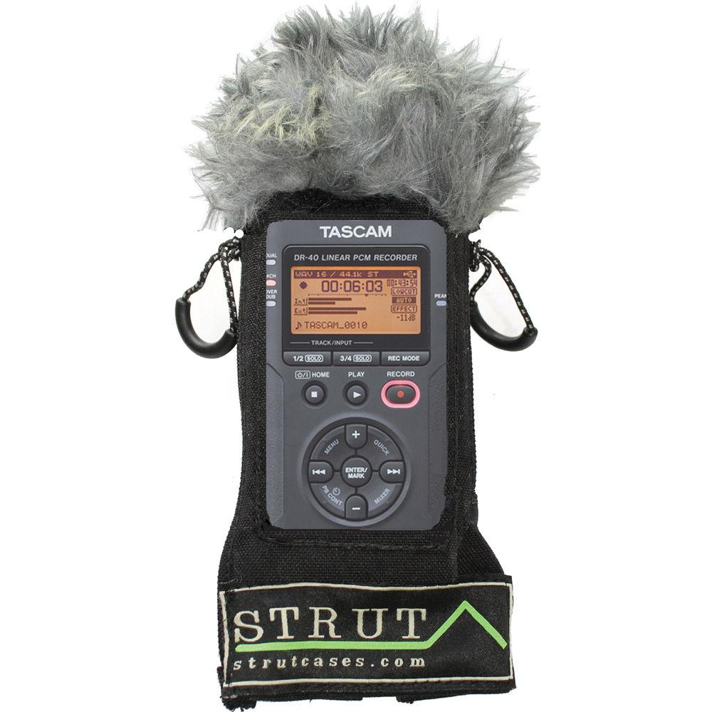 Strut Str Dr40wx Audio Case For Tascam Dr 40 Str Dr40wx B Amp H