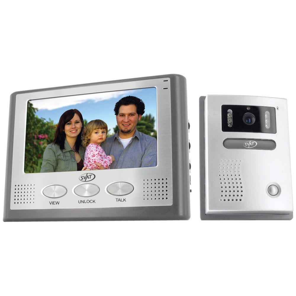 Svat 2-Wire Hands-Free Color Video Intercom System VIS300-7M2