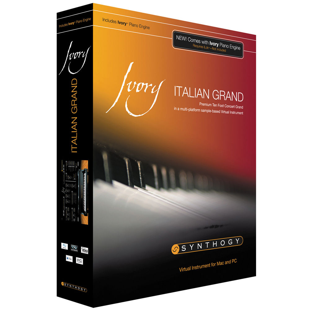 Ivory ii grand pianos.