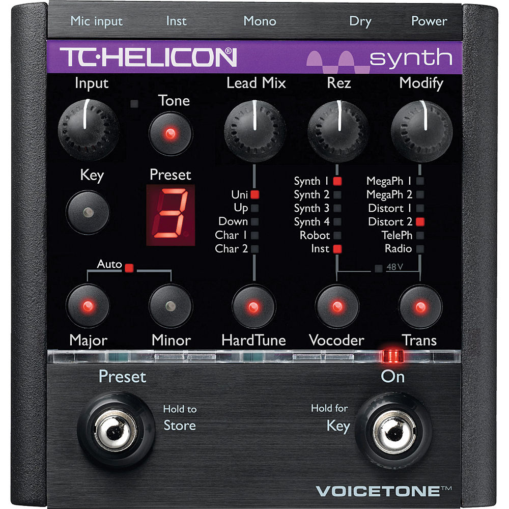 tc helicon voicetone synth hardtune and 996 000811 b h photo. Black Bedroom Furniture Sets. Home Design Ideas