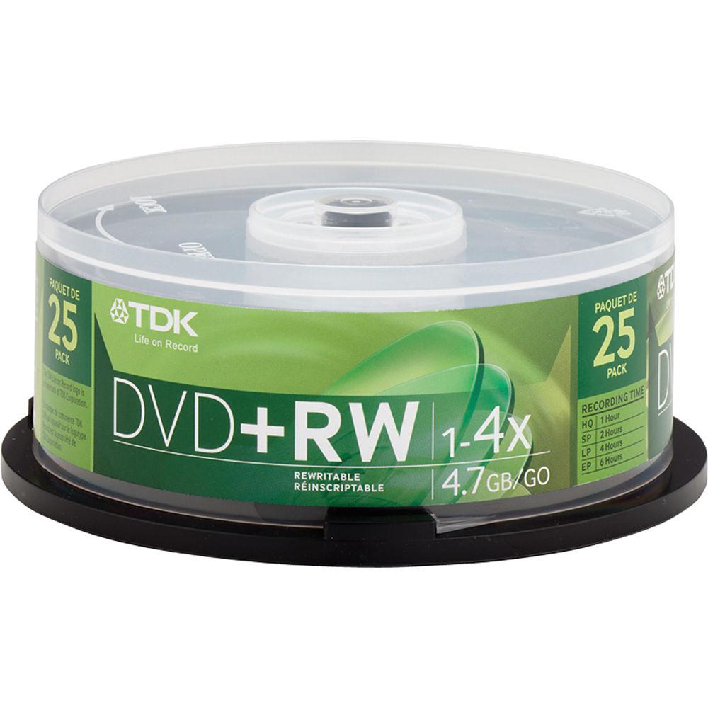DVD RW TDK