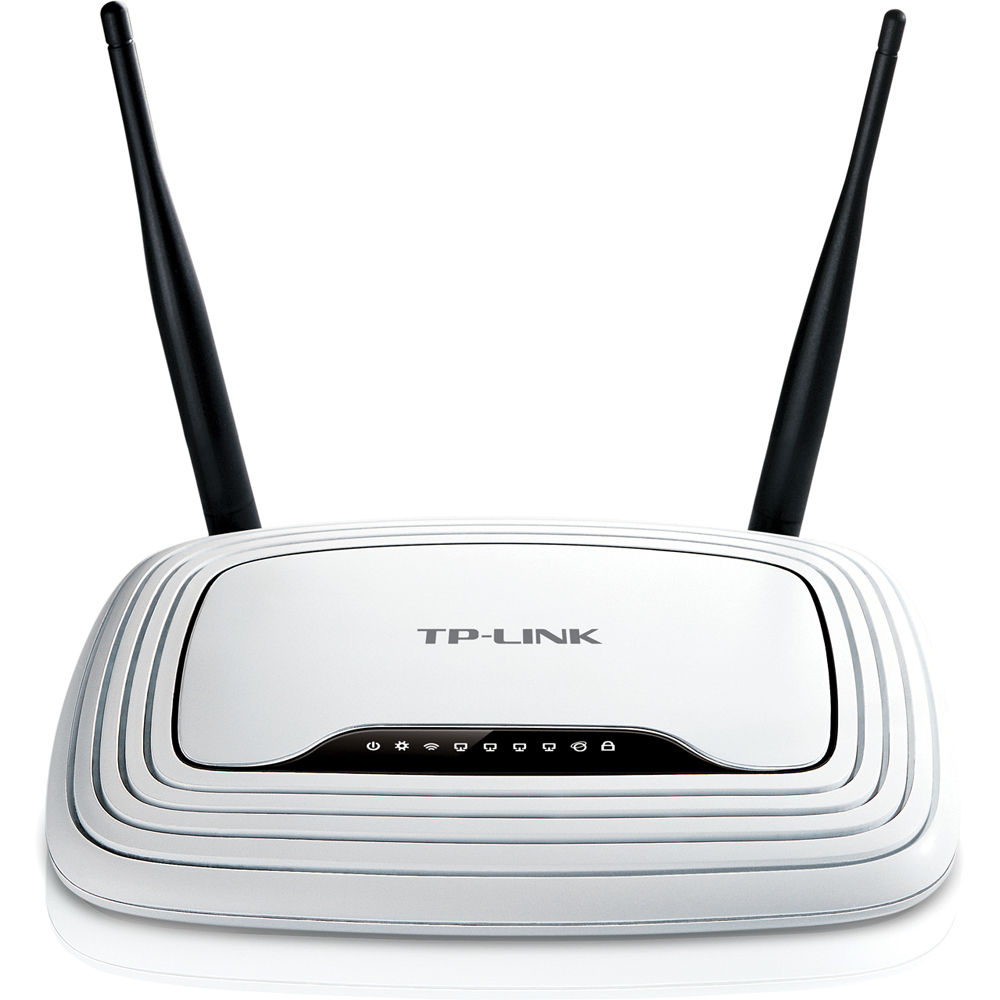 tp link tl wr841n wireless n router tl wr841n b h photo video. Black Bedroom Furniture Sets. Home Design Ideas