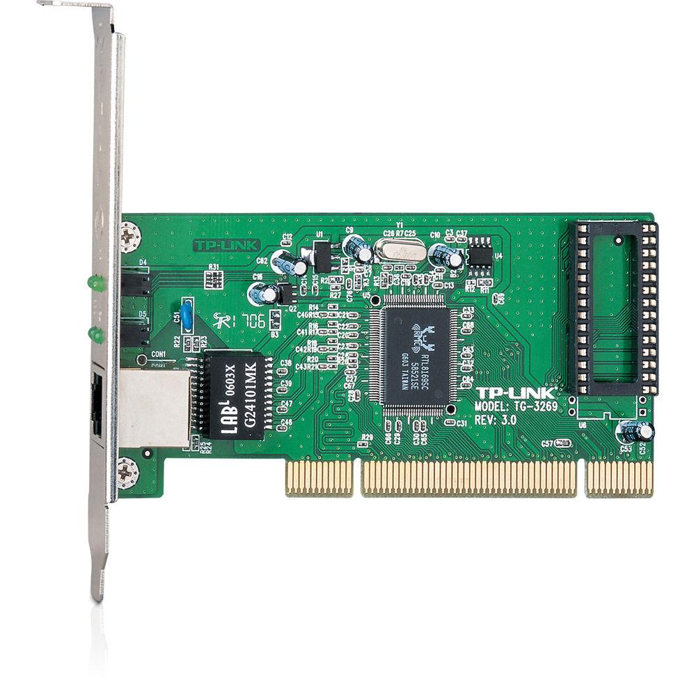 TP-Link TG-3269 Gigabit PCI Network Adapter TG-3269 B\u0026H Photo