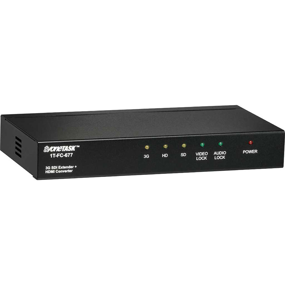 Tv One 3g Sdi Extender With Hdmi Converter 1t Fc 677 Bh Photo Rbvhda8 Hd Sdsdi 1 Input 8 Output Video Distribution Amplifier