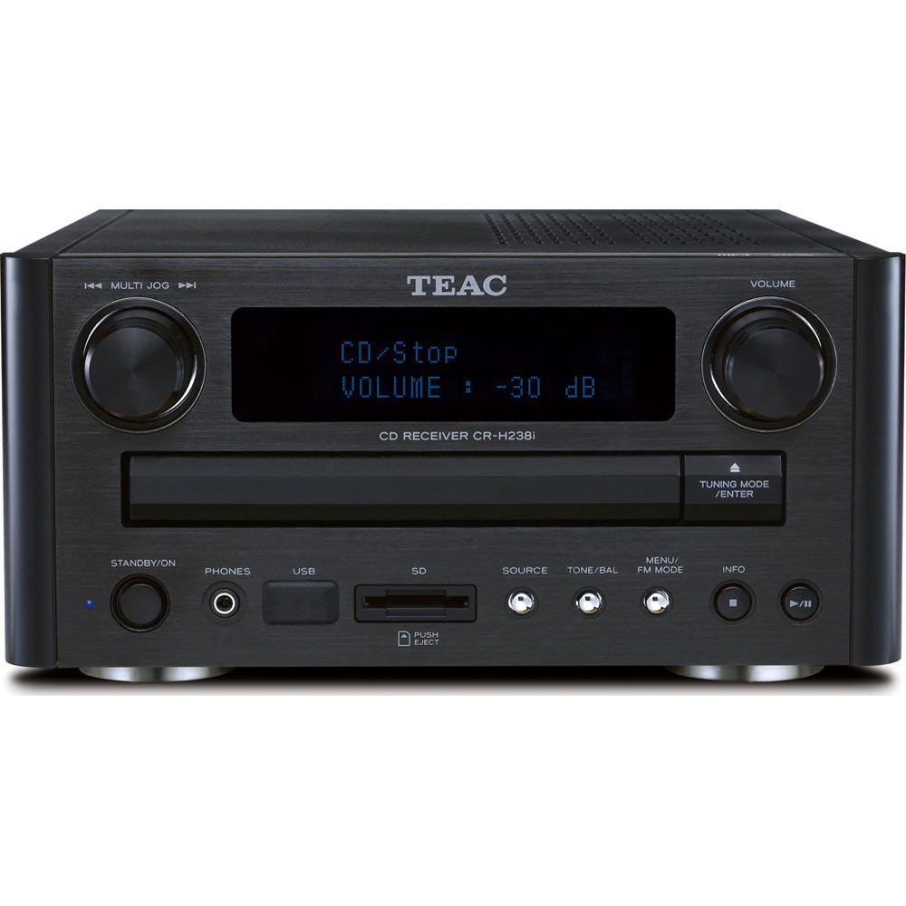 Teac Cr H238i Am Fm Cd Receiver With Usb Ipod Interface Cr