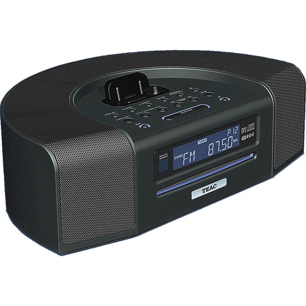 Teac Sr L280i B Ipod Iphone Dock Table Radio W Usb Sr L280i B