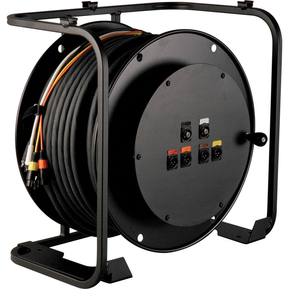 TecNec RA4V2-HD250PL HD Broadcast AV Cable Reel RA4V2-HD250PL