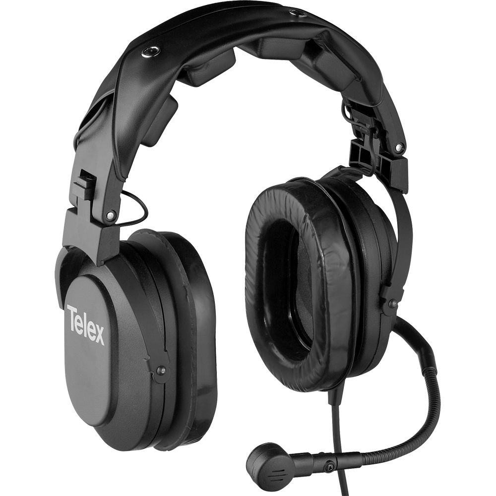 Telex Hr 2r Dual Sided Headset With A4m Connector