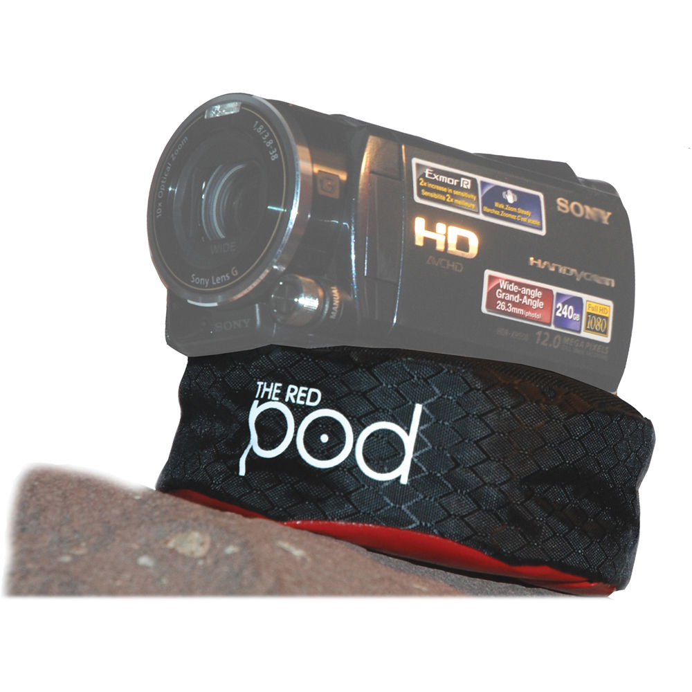 The Pod Red Bean Bag Camera Support