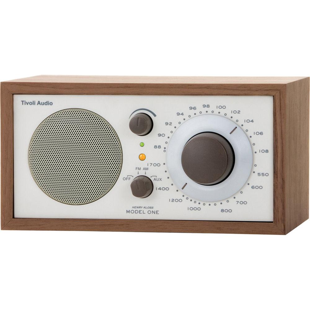 Tivoli Model One AM/FM Table Radio (Beige / Walnut) M1CLA B&H