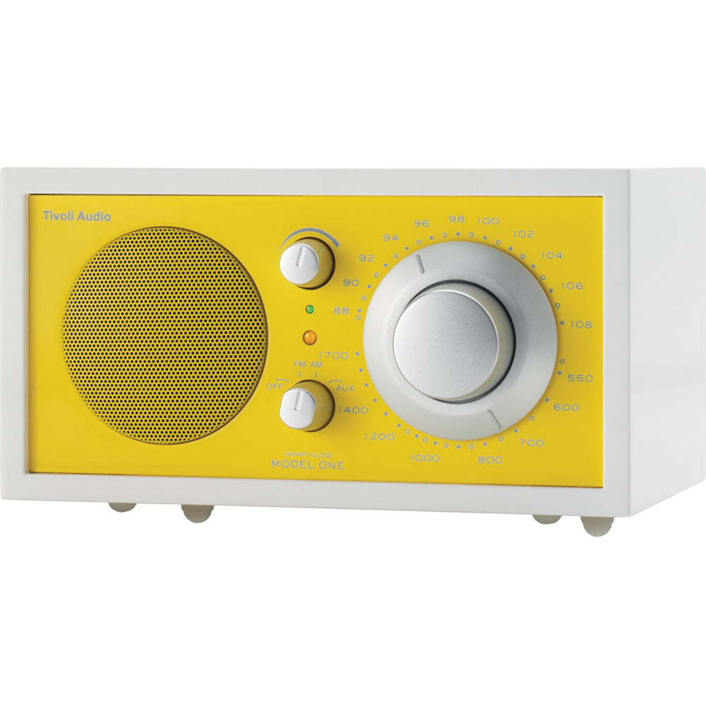 tivoli frost white collection model one am fm table radio. Black Bedroom Furniture Sets. Home Design Ideas