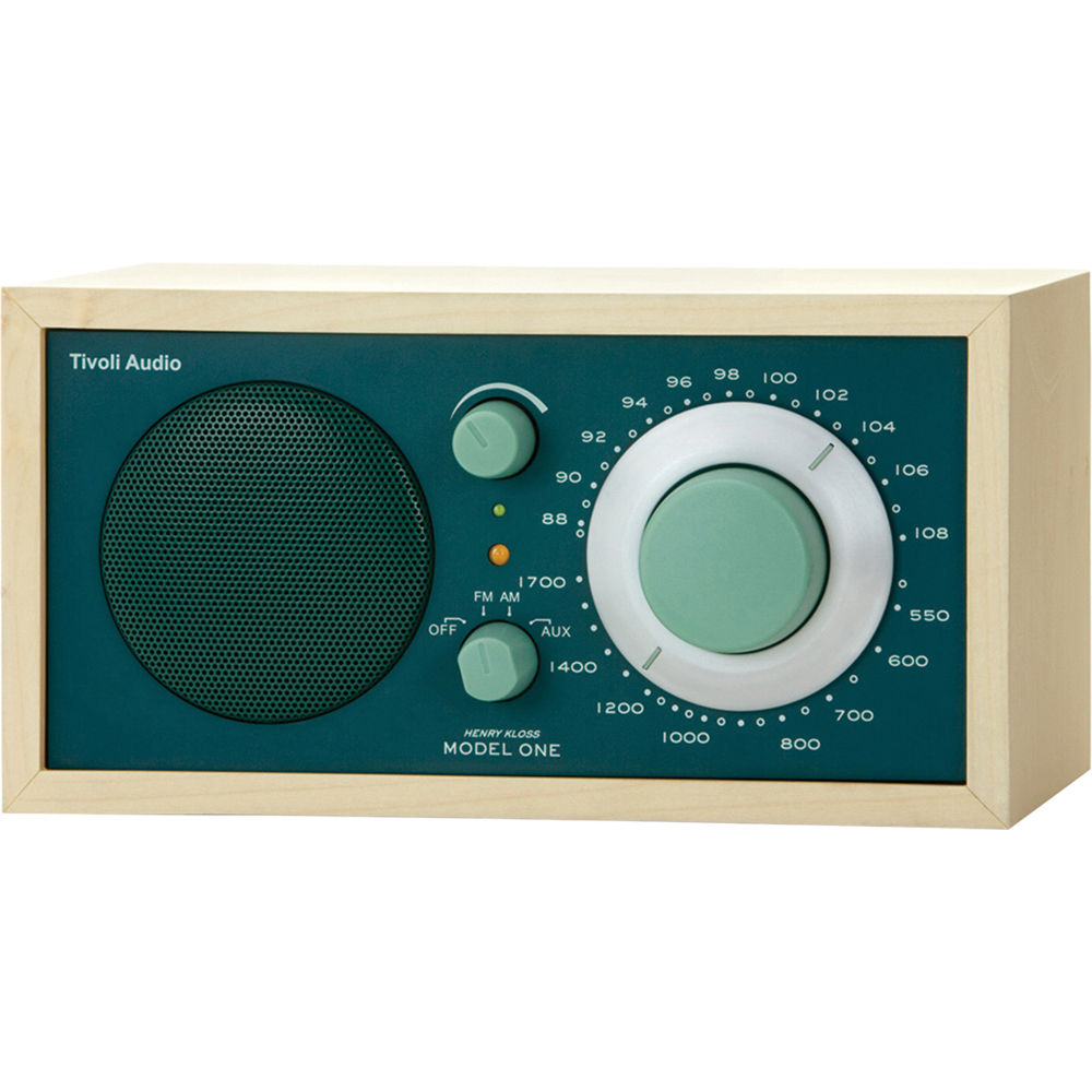 tivoli model one am fm table radio green maple m1grn b h. Black Bedroom Furniture Sets. Home Design Ideas