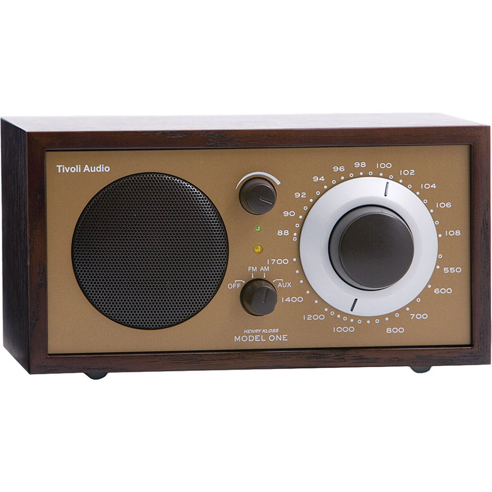 tivoli model one am fm table radio wenge bronze m1wnbrz b h. Black Bedroom Furniture Sets. Home Design Ideas