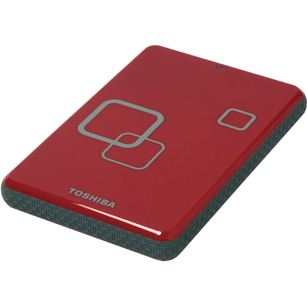 Toshiba 500GB Canvio Portable Hard Drive E05A050CAU2XR B&H ...