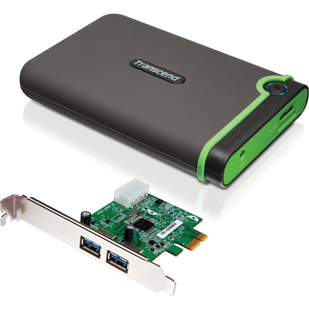 Transcend Storejet 25M3 3.1 External Hard Drive 3.0 USB 1