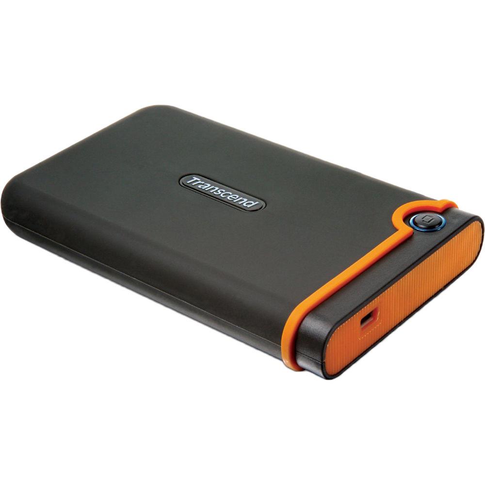 Transcend 250GB StoreJet 25M Portable Hard Drive TS250GSJ25M B\u0026H
