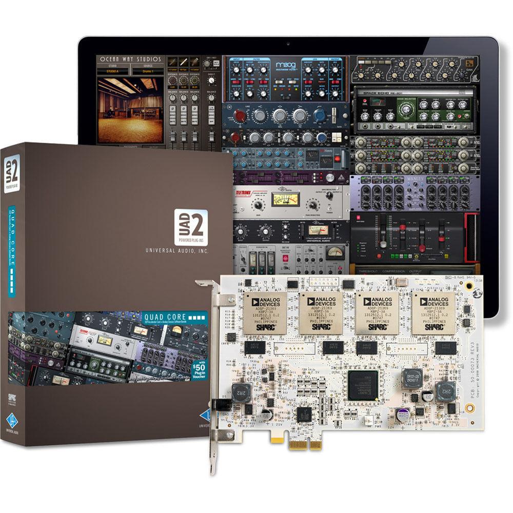 Universal audio uad 2 quad pcie dsp card pci2q c bh photo universal audio uad 2 quad pcie dsp card stopboris Image collections