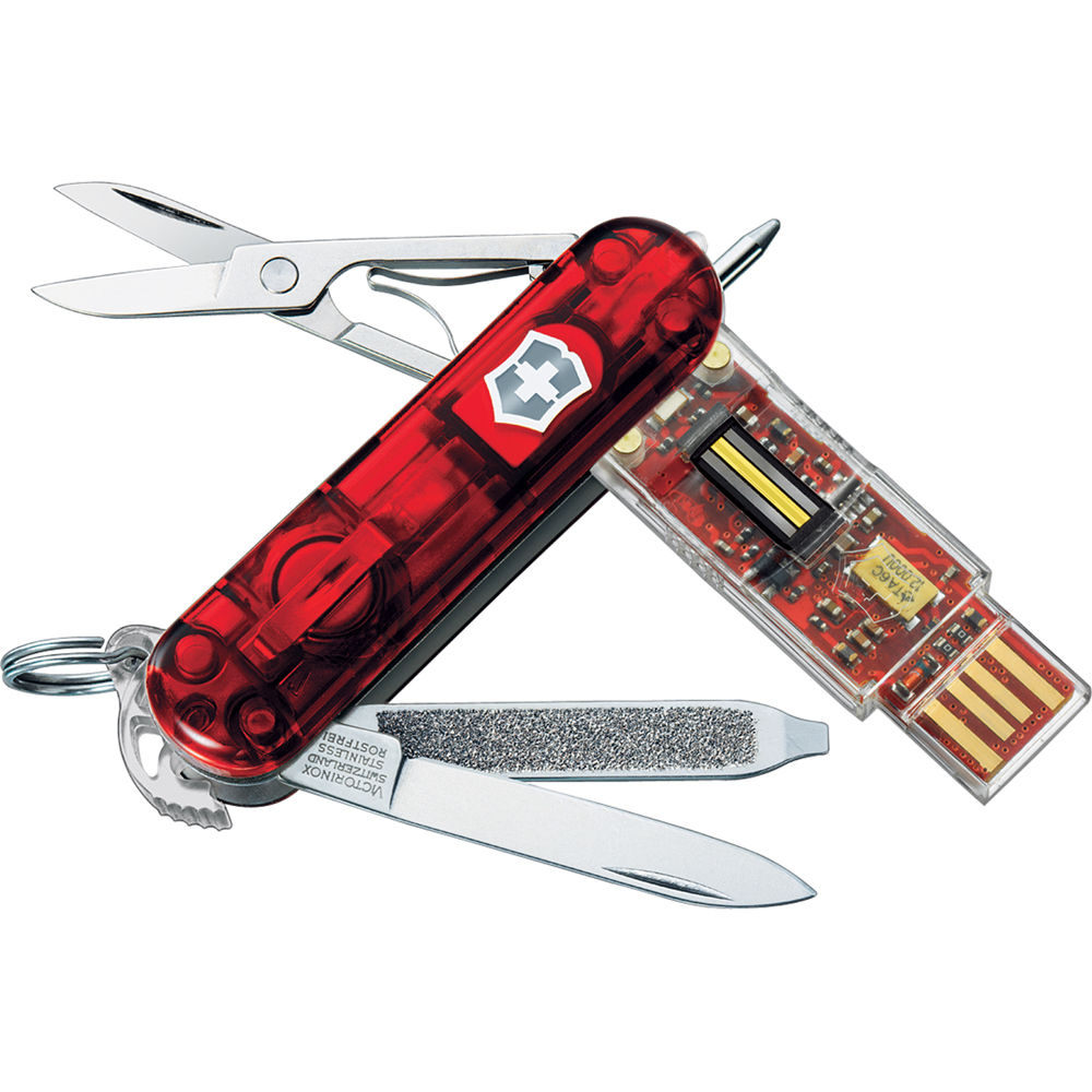 Victorinox Swiss Army Secure Flash Usb 2 0 Drive 16gb