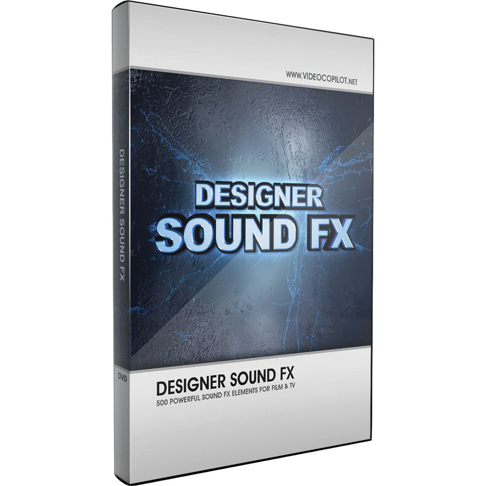 Video Copilot S Designer Sound