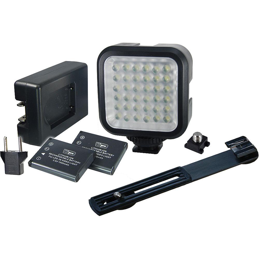 Vidpro Led 36 Video Light Kit