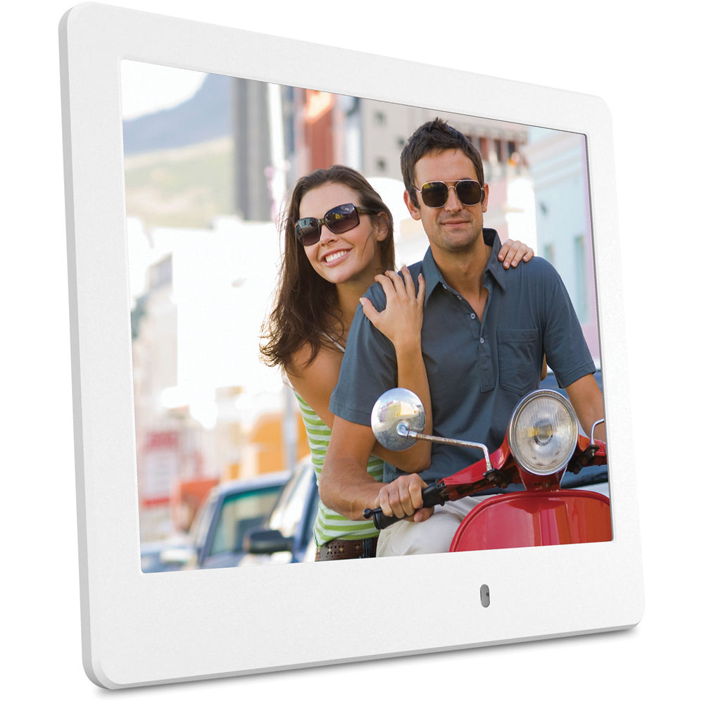 viewsonic vfd820 8 digital photo frame white