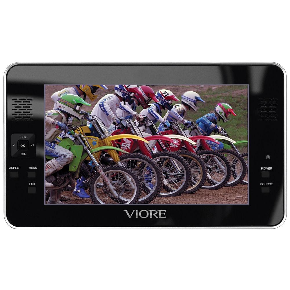 viore plc7v96 7 portable lcd television plc7v96 b h photo rh bhphotovideo com